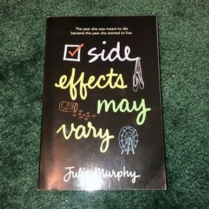 """3 for $15 Books!!! """"Side Effects May Very"""""""